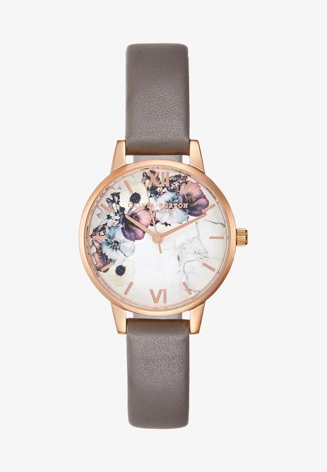 MARBLE  - Horloge - rosegold-coloured