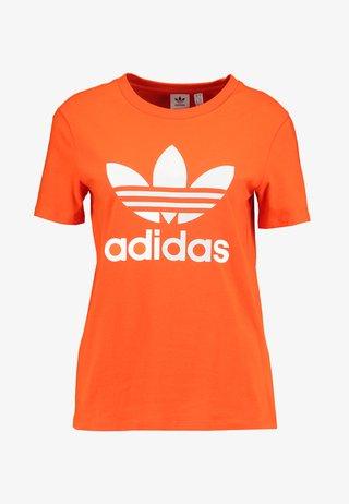 ADICOLOR TREFOIL GRAPHIC TEE - T-Shirt print - orange