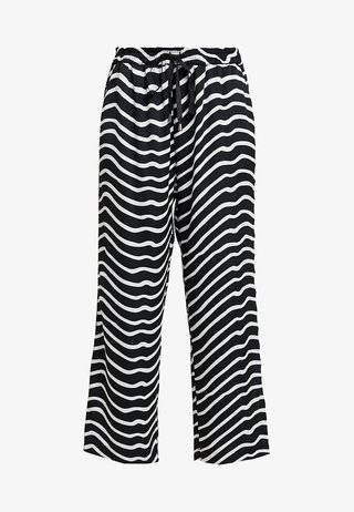 MAHAL ZEBRA - Trousers - black