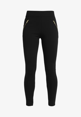 PONTE - Leggings - Hosen - black