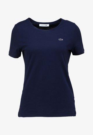 ROUND NECK CLASSIC TEE - Basic T-shirt - marine