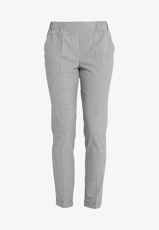 NANCI JILLIAN PANT - Stoffhose - light grey melange