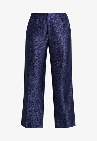 LYNNE EVENING CULOTTE PANTS - Stoffhose - royal navy blue