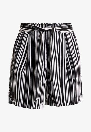 STRIPE EMERALD - Shorts - black