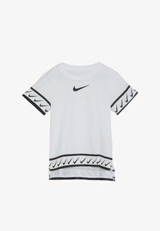 TEE STUDIO - T-shirt z nadrukiem - white