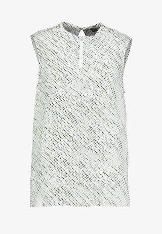 FLOATY SHINE - Bluse - off white