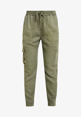 MUNDINI - Trousers - oliv green