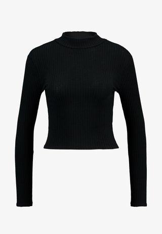 LETTUCE EDGE - Pitkähihainen paita - black