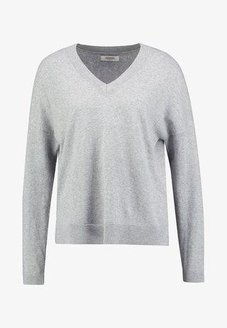 Svetr - grey melange