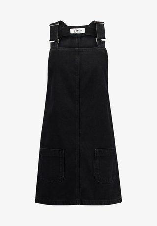 CHARLOTTE BUCKLE PINNY - Robe en jean - black