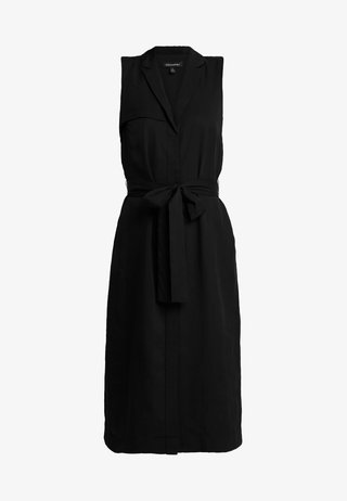 TRENCH DRESS - Denní šaty - black