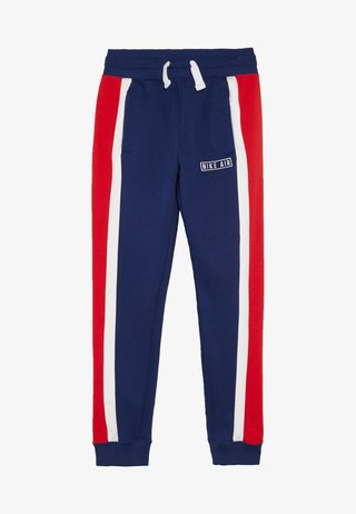 AIR PANT - Träningsbyxor - blue void/white/university red
