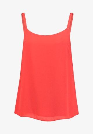 SCOOP CAMI - Top - red