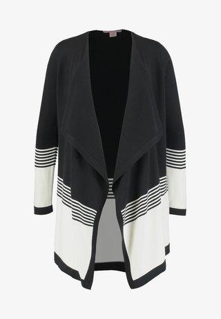 Cardigan - black/off-white