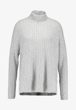 ROLL NECK - Jumper - grey