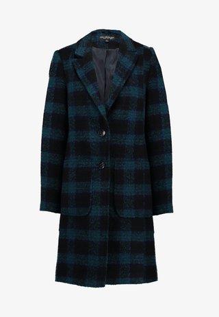 CHECK - Classic coat - green