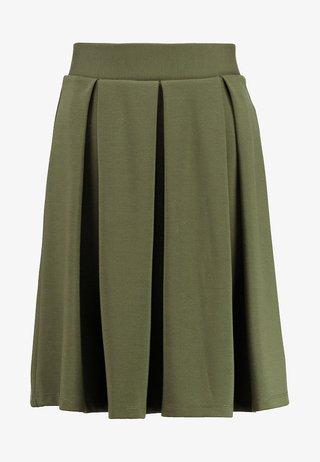 A-snit nederdel/ A-formede nederdele - olive night