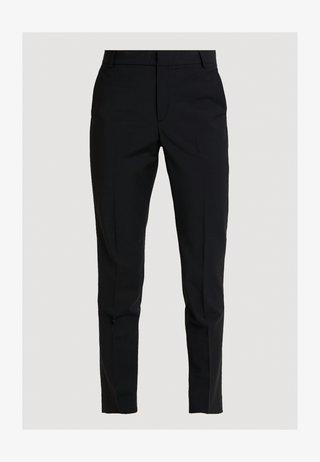 ZALA CIGARETTE PANT - Pantalon classique - black
