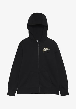 AIR - Sweatjacke - black/metallic gold