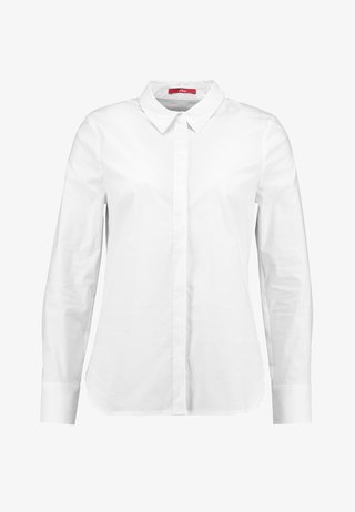 LANGARM - Hemdbluse - white
