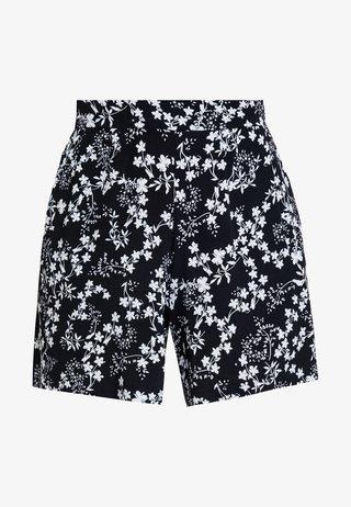 HOSE KURZ - Shorts - navy bouquet