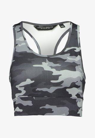 ACTIVEWEAR CAMO - Top - grey