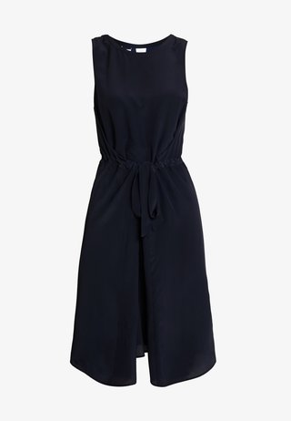 DRESS SLEEVELESS BELT INDIVIDUAL - Day dress - pure navy