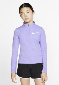 Nike Performance - RUN - Top s dlouhým rukávem - lavender mist/medium violet - 3