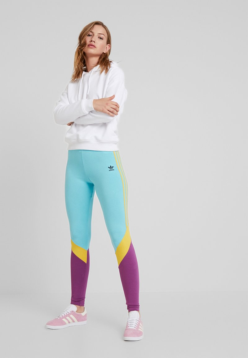 adidas Originals - TIGHTS - Leggings - easy mint